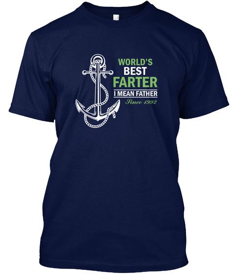 WORLDS BEST FARTER 1992 GIFT Unisex Tshirt