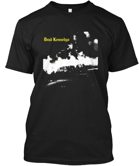 Dead Kennedys Black T-Shirt Front