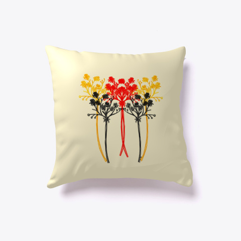 Elegant Wildflowers Light Yellow T-Shirt Front