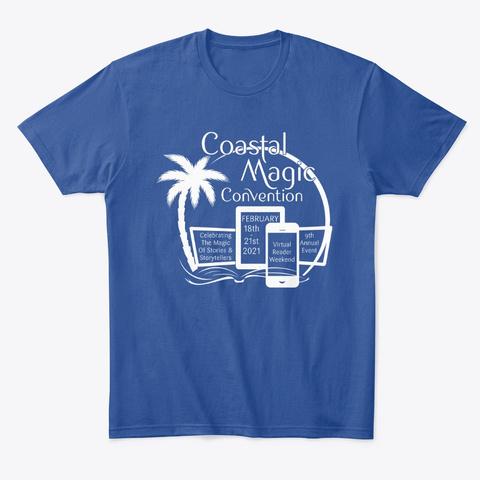Cm Con21 Annual T Shirt (White) Deep Royal T-Shirt Front