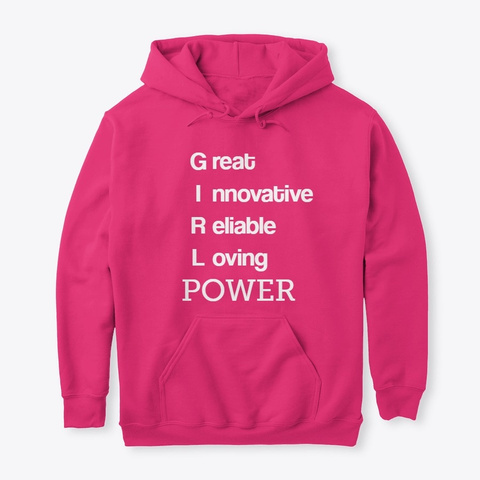 Girl Power Heliconia T-Shirt Front