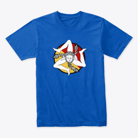 Trinacria Royal T-Shirt Front