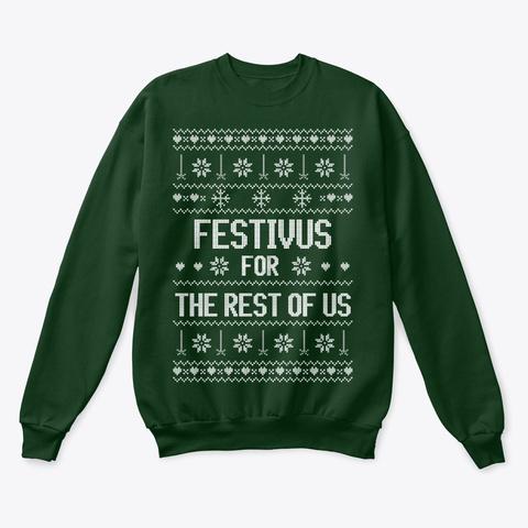 Festivus Sweater Deep Forest  Sweatshirt Front