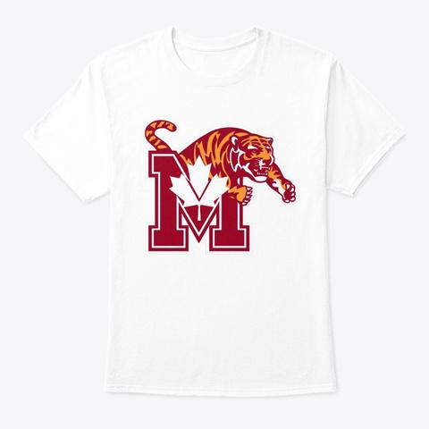 Memphis, Canada White T-Shirt Front