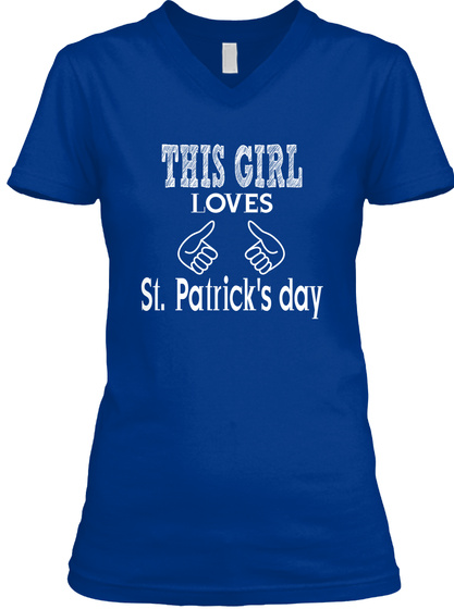 f46764be0 This Girl Loves St. Patrick's Day Shirts - THIS GIRL LOVES St ...