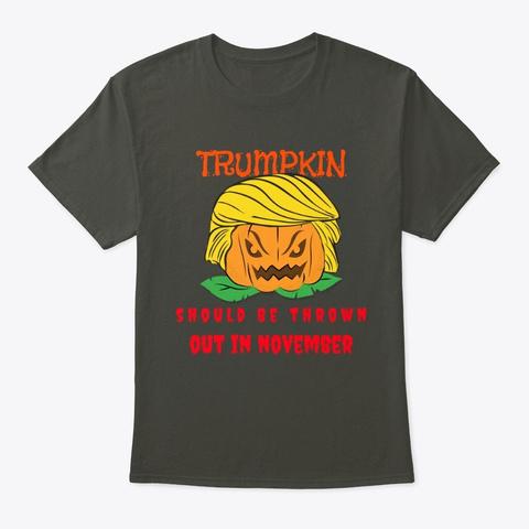 Trumpkin Halloween Election 2020   Smoke Gray T-Shirt Front