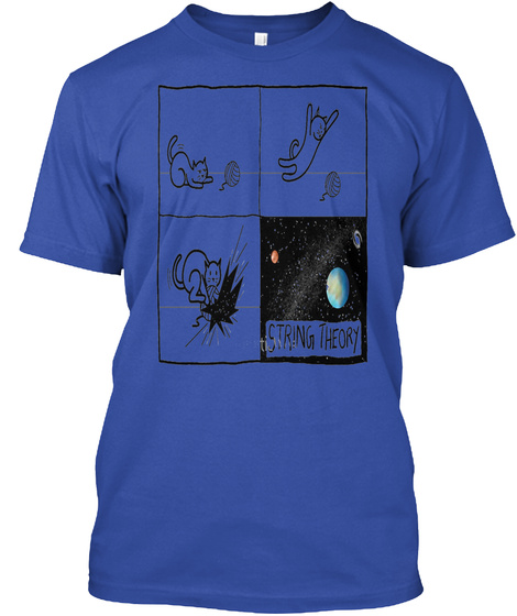 String Theory True Royal T-Shirt Front