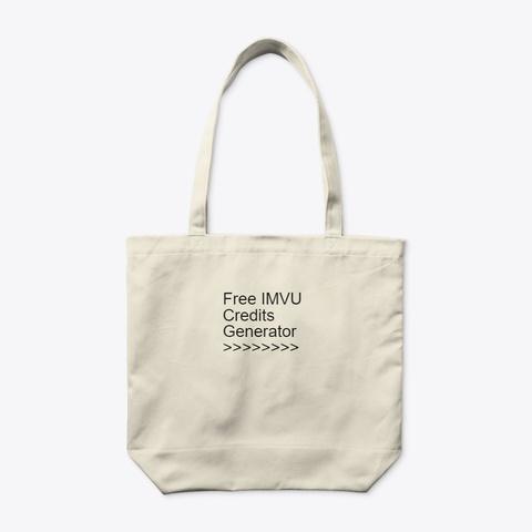 ¶Real¶ Free Imvu Credits No Verification Natural T-Shirt Back