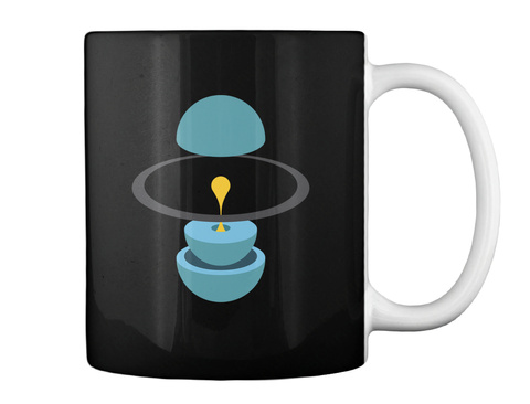Layers Uranus Mug V [Usa] #Sfsf Black Mug Back