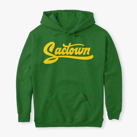 Sactown   Moneyball Gold Irish Green T-Shirt Front