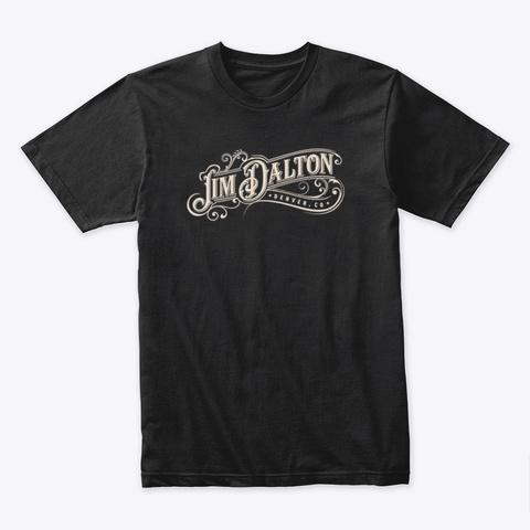 Vintage Logo Black T-Shirt Front
