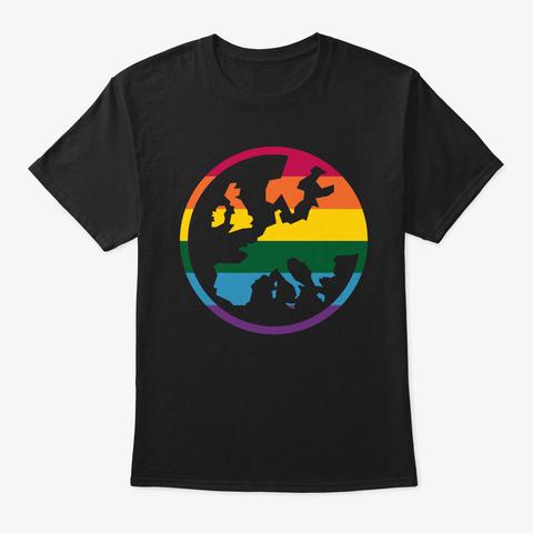 Pride / Eg Black T-Shirt Front