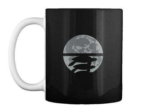 Flat Earth Eclipse 2 Mug [Usa] #Sfsf Black Mug Front