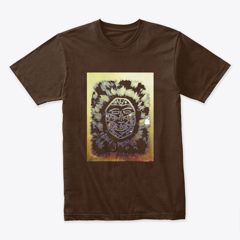 King And Queen Tee Shirt Dark Chocolate T-Shirt Front