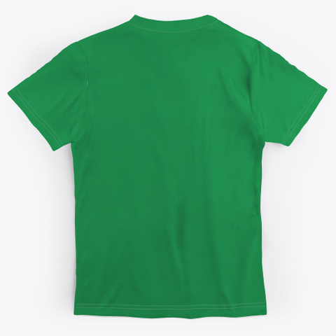 Kitten In A Coffee Cup Holiday Season Green T-Shirt Back