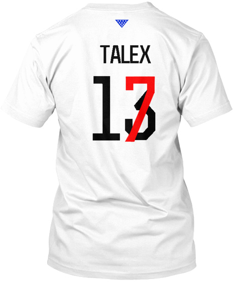 Talez 17 White T-Shirt Back