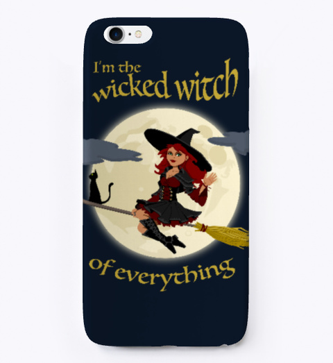 Wicked Witch   Halloween Case White T-Shirt Front