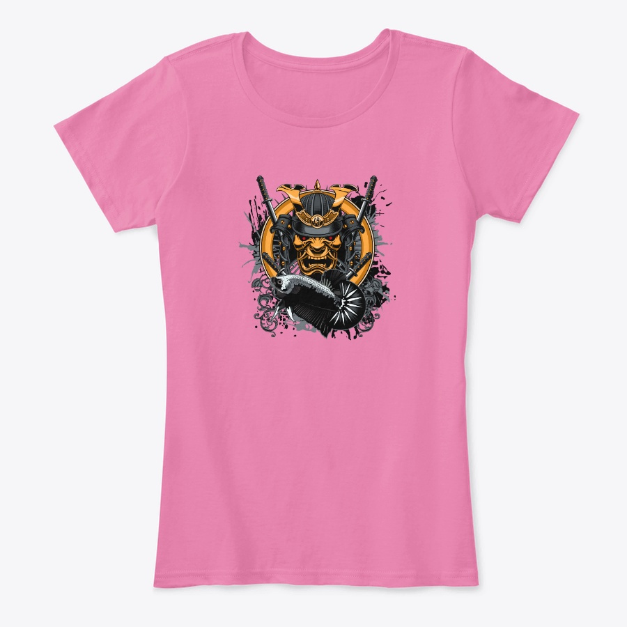 Women Black Samurai Black Bab Logo Unisex Tshirt