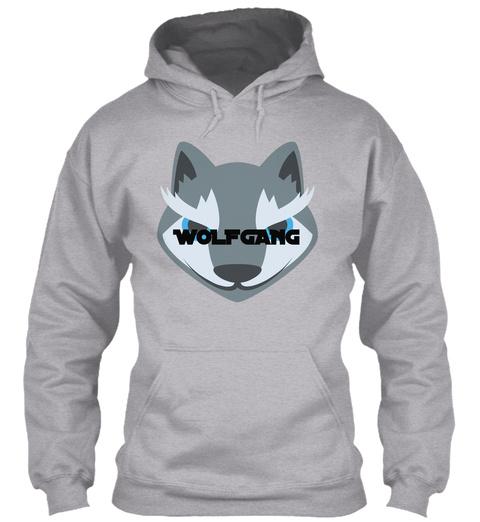 96b3350b1887 Wolfgang Sport Grey Sweatshirt Front