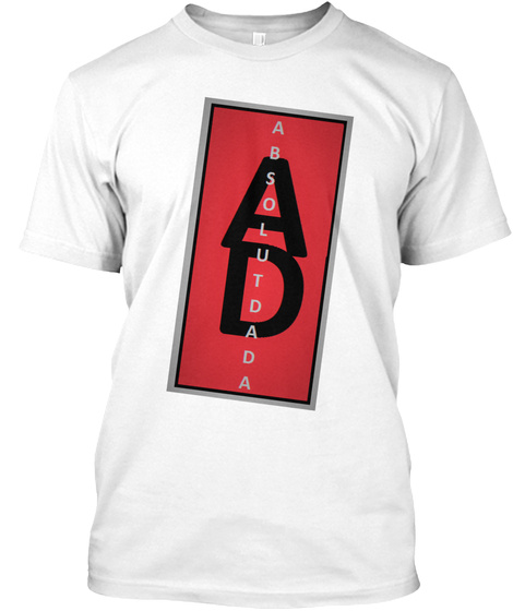 Ad Absolutdada White T-Shirt Front