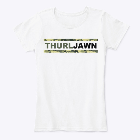 Thurl Jawn Shirts (Lt) White T-Shirt Front