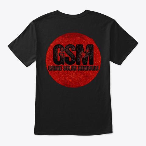 It's The Sun Black T-Shirt Back