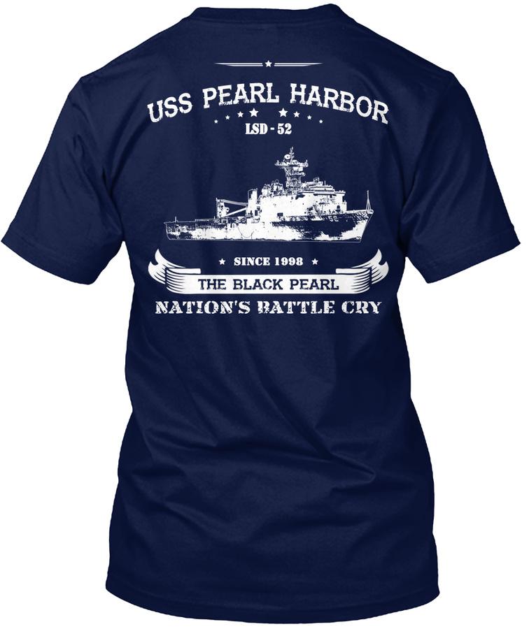 Uss Pearl Harbor Lsd-52 Unisex Tshirt