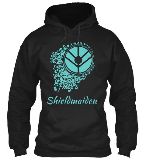 Shieldmaiden Black Sweatshirt Front