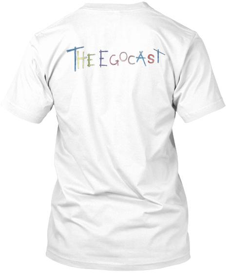 I'm A Hug Slut White T-Shirt Back
