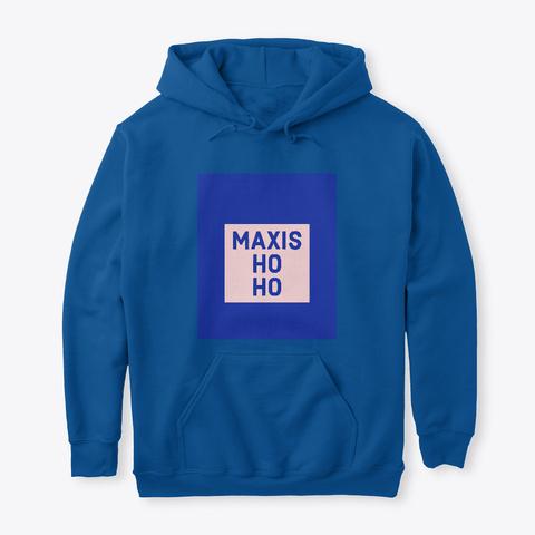 Maxis Holiday Merch Royal T-Shirt Front