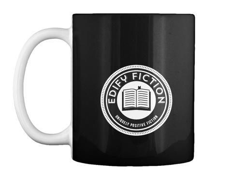 Edify Fiction Logo Wear Black T-Shirt Front