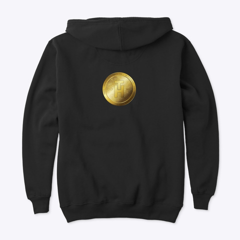 Hot Trillion Coin Black T-Shirt Back