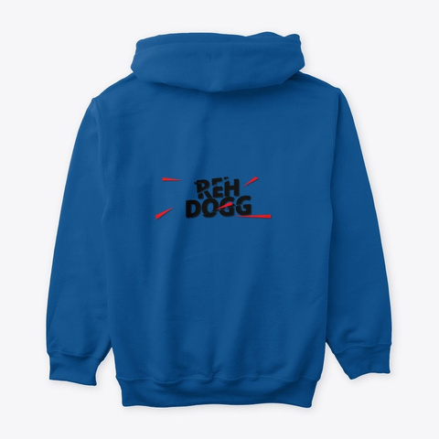 Reh Dogg Royal T-Shirt Back