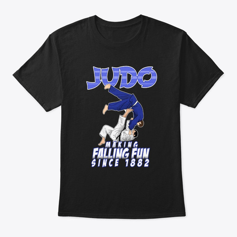 Funny Judo Gifts And Apparel | Making Black T-Shirt Front