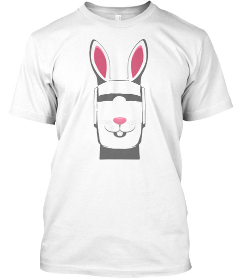 Easter April Fools Day Funny 2018 Tee White T-Shirt Front