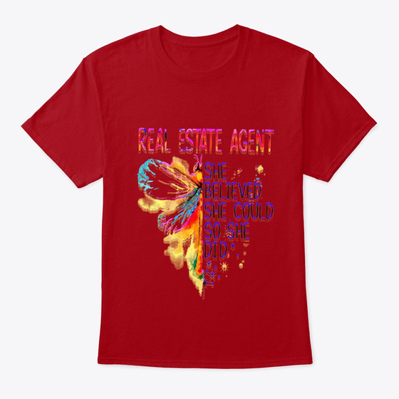 Real Estate Agent She Believed Products from Aba   Teespring