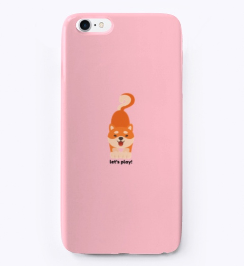 Fetching Phone Case Pink T-Shirt Front