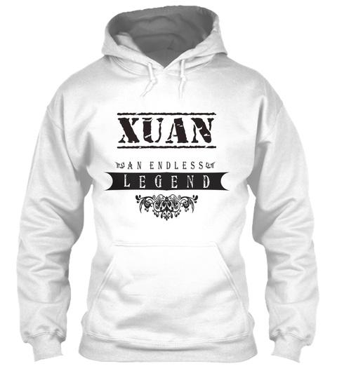 Xuan An Endless Legend White T-Shirt Front