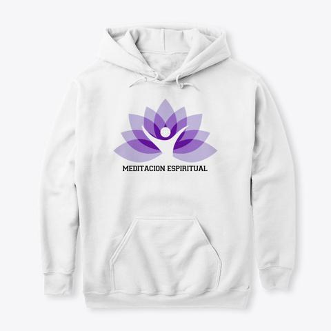 Meditacion Espiritual White Camiseta Front