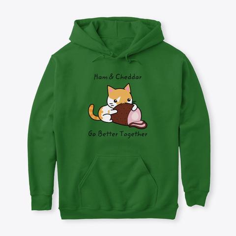 Ham And Cheddar Irish Green Sweatshirt Front