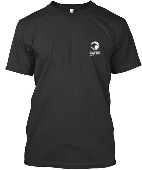 Bujinkan Namiryu Dojo Teeshirts  Black T-Shirt Front