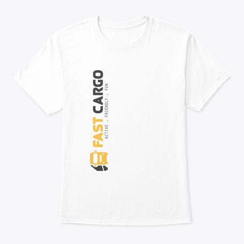 Fast Cargo Vtc   T Shirt [White] White T-Shirt Front