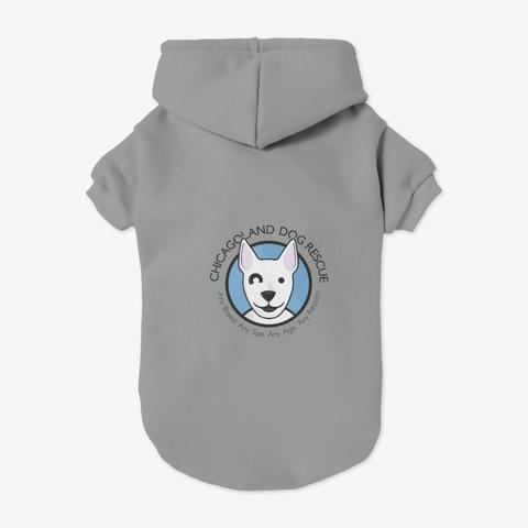 Cdr Logo Grey T-Shirt Back