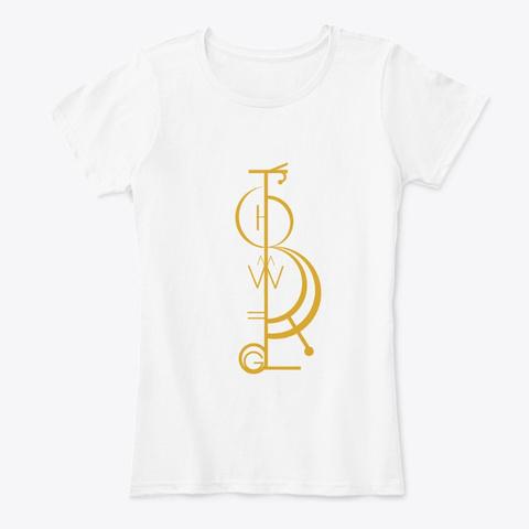 Embodiment Of Power White T-Shirt Front