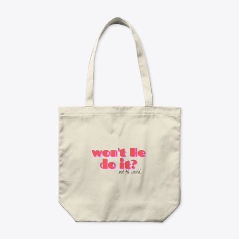 Front of Organic Tote Bag