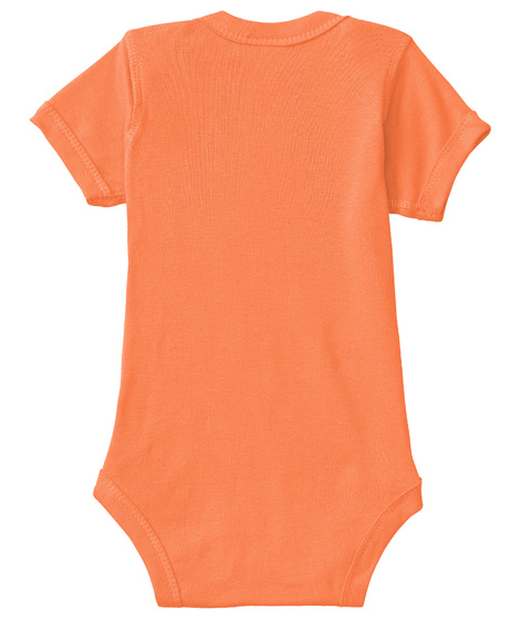 Breaking News Onesie Orange T-Shirt Back