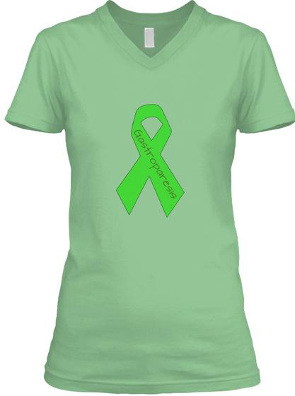 Gastroparesis Leaf  T-Shirt Front