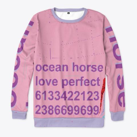 Ocean Horse Love Perfect Standard T-Shirt Front