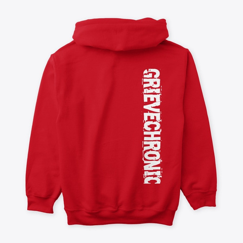 Grievechronic/ Puryf Collection By Aolab Red T-Shirt Back