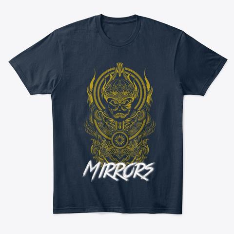 Gold Warrior New Navy T-Shirt Front